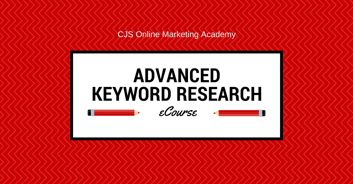Free Ecourse: Advanced Keyword Research