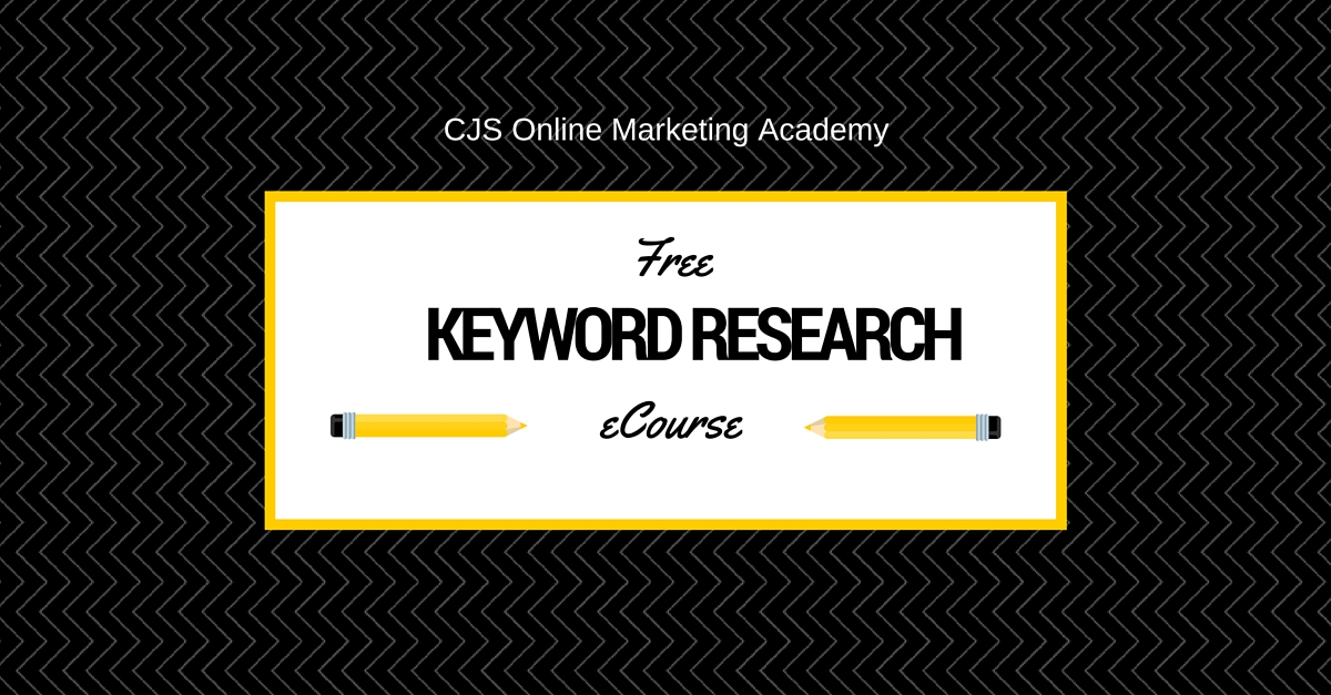 keyword research: free ecourse